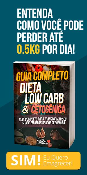 Guia completo dieta low carb e cetogênica